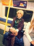 Alois Trancy Cosplay - Alois' First Subway Ride by Skelzonefire