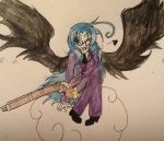 Angel with a shotgun by Rippy-paws