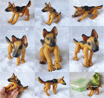 BJD German Shepherd by vonBorowsky