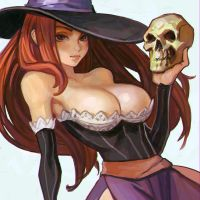 Dragon's Crown Sorceress sketch by KR0NPR1NZ