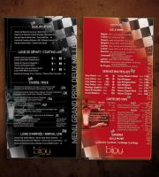 formula1 menu for bijou 2010 by sounddecor