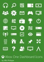 Xbox One Dashboard Icons by PiccoloV