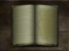 old Wizards spel book by abbe-rocks