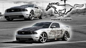 Ford Mustang GT Wallpaper by GregKmk