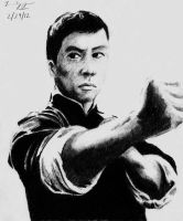 Donnie Yen as Ip Man by KennyQuan