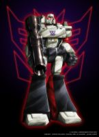 Colours- Megatron Standup by JasonCardy