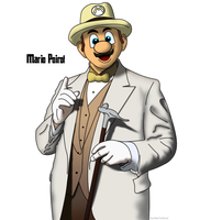 Mario Poirot by NuclearCookout