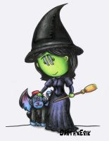 Elphaba and Chistery by DarthxErik