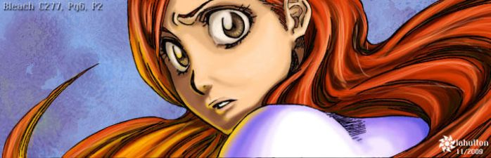 Bleach - Orihime Surprised by RhyssaFireheart