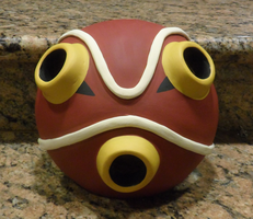 Princess Mononoke Mask by vampirebatsahh