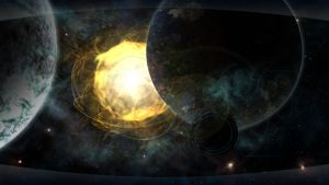 Discovery wallpaper 1366x768 by Squirrel-slayer