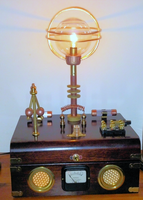 Steampunk lamp by Rangster