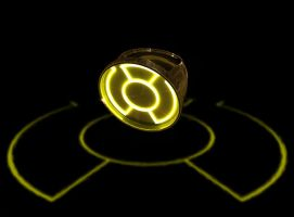 Sinestro Corps  Ring of Power by thiagoesp