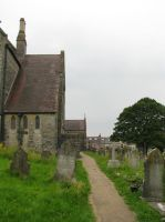 Places 436 church and graveyard by Dreamcatcher-stock