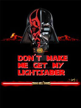 DON'T MAKE ME GET MY LIGHTSABER: TWO LORDS by Eat-Sith