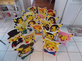 New PikaBug Standee Displays by pikabellechu
