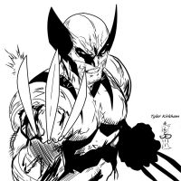 Logan_Tyler K my INKS by JamesLeeStone