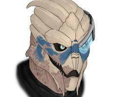 Mass Effect Garrus by HerpDerp187