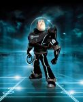 Tron - Buzz enters the Grid by iamclu