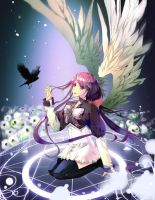"Anime Angels featured art - ""Searching"" by animeangelsbook"