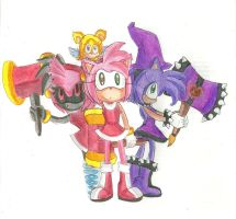 Amy Metal Amy and Dark Amy by RachelGilber