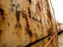Rusty Train by Rendever