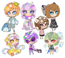 Gaia: Pattern Chibi 1 by visulies