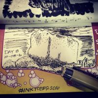 Project: Inktober 2016 -day 8- by mscherbear