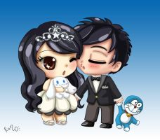 Ps: chibi's couple by RanNiwa
