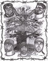 Civil Disturbance Graphite by crystalaki