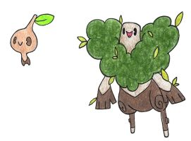 Tree sprites by FrozenFeather