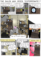 Dalek Who Cried Exterminate_1 by GaryTheFrog