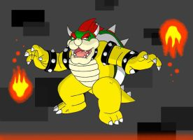 EOS: King Bowser by MelMel1350