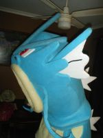 Gyarados head side view by spookysculpter