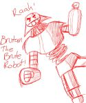 Brutan The Brute Robot by Rainbow2Dash