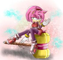 CE: Amy Rose Boom by bakkaaaa