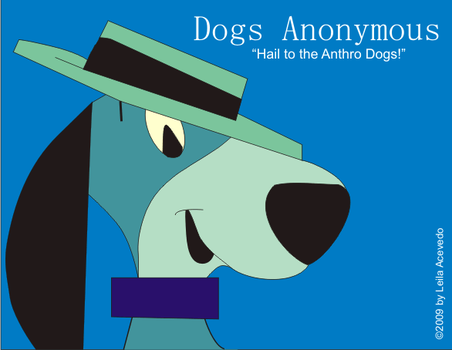 All Hail the Anthro Dogs--BLUE by DogsAnonymous