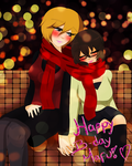 HBD Mafu!! Nuzzles wth the babe by Milizapiainc