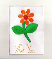 Thank You Card by ImaginaryRoses