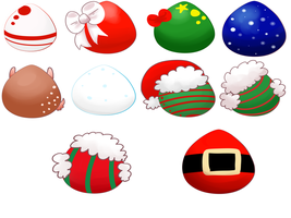 FREE Christmas Mystery Egg adopts! {CLOSED} by TheSquiggler
