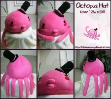 Octopus Hat by KitsenAnyMury