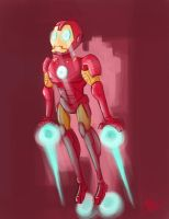 Speed Paint - Iron Man by MattCarberry