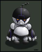 Emo Robot by floopate