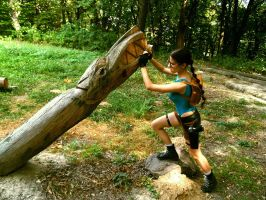 Lara Croft - action by TanyaCroft