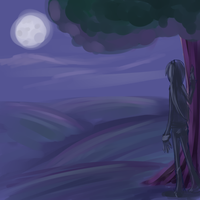 At night by Z0anna