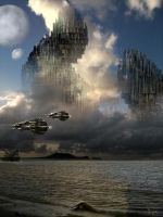 Floating City by lifeformgraphics
