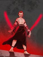 Azula Ventress by Crispy-Gypsy