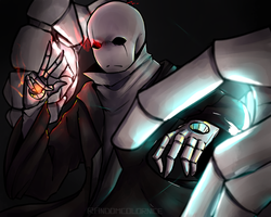 Gaster Glitchtale  #2 by RandomColorNice