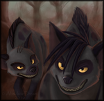 Shenzi and Bonzai by AbsoluteDream