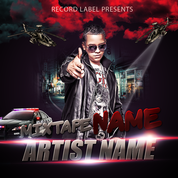 Mixtape Cd Cover PSD by AlbaniaGraphicDesign